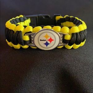 🏈✨PITTSBURGH STEELERS BRAIDED PARACORD BRACELETS